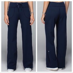 NWT lululemon Still Pant II Full-on Luon Blue